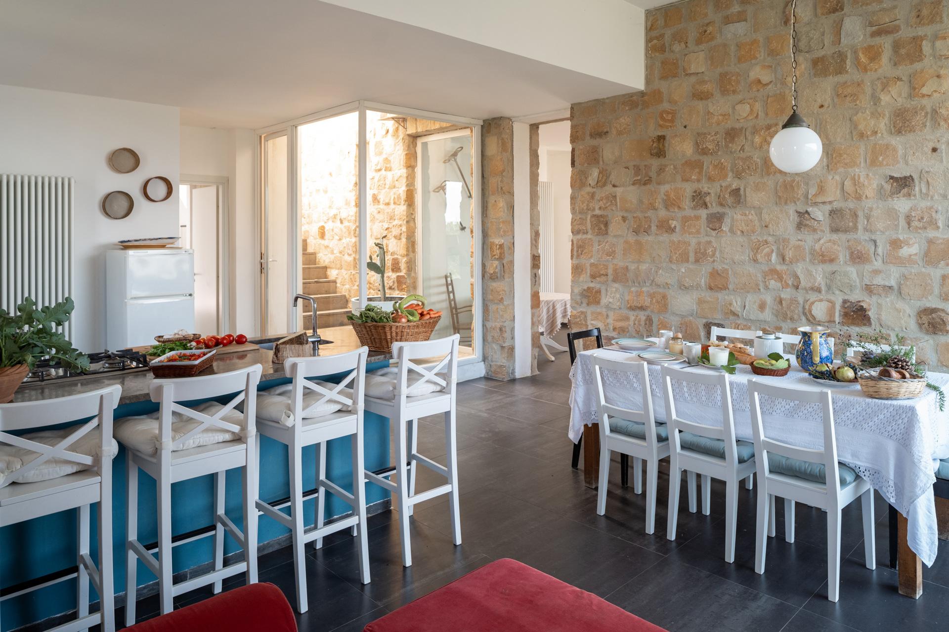 Casa Cerasuola - Zona pranzo e cucina