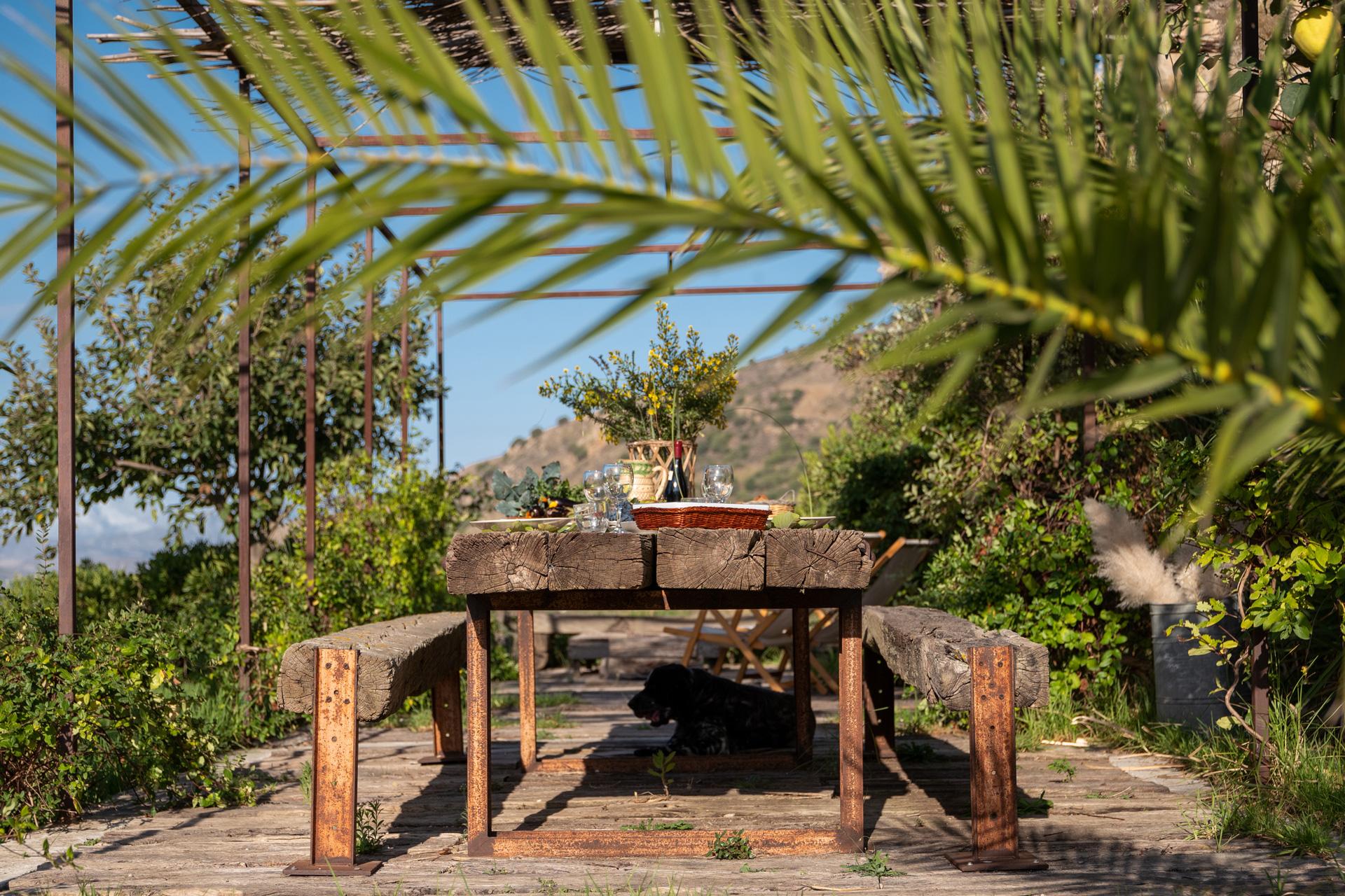Casa Cerasuola - Tavolo esterno