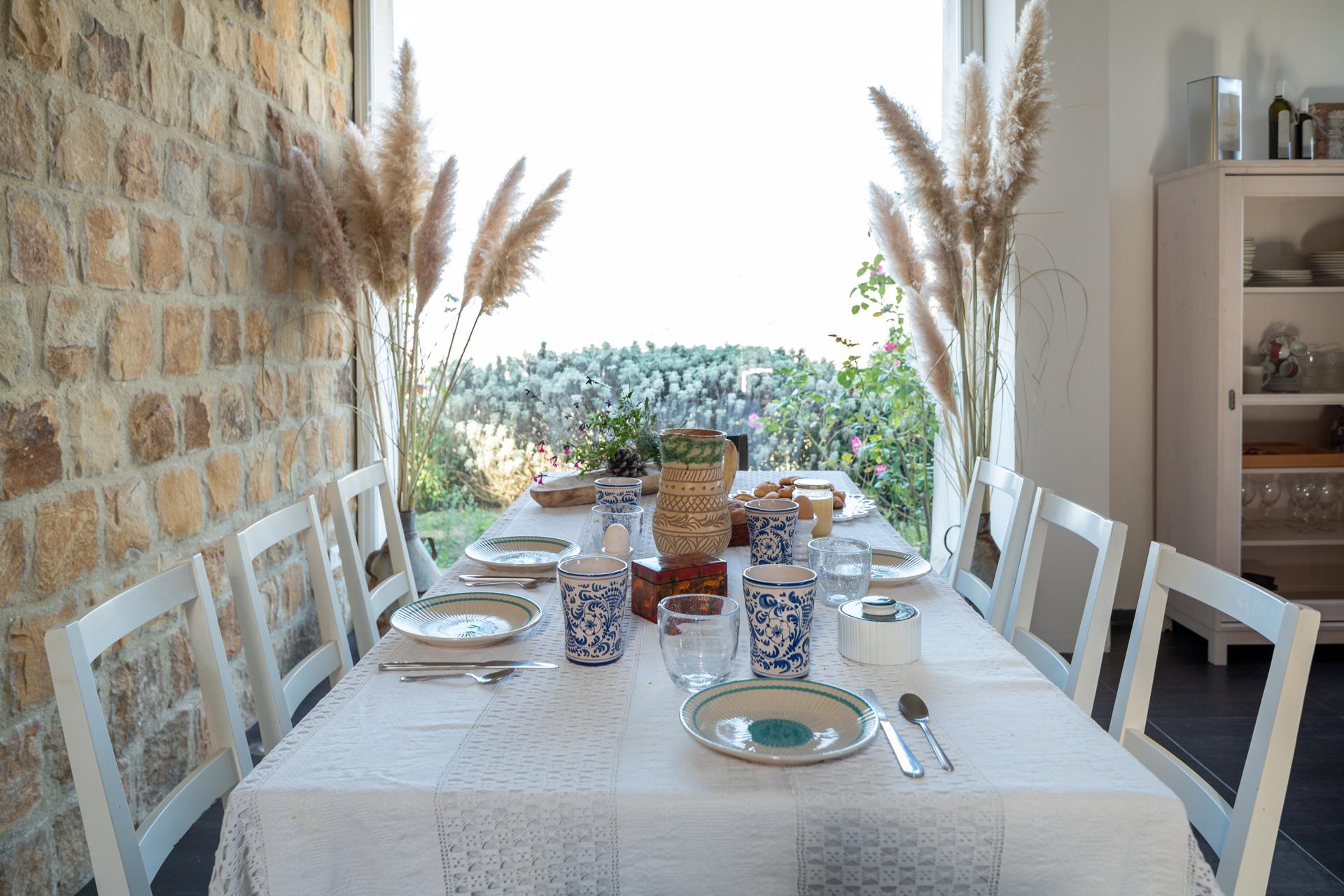 Casa Cerasuola - Tavolo da pranzo per 8